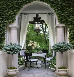 Relaxing Outdoor Spaces