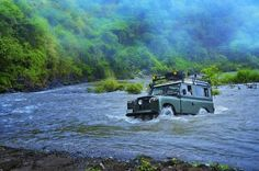 Land Rover River Crossing