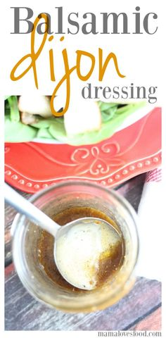 Balsamic Dijon Salad Dressing is the perfect addition to your next salad recipe! Simple ingredients, easy to make, and delicious! My husband doesn't use dressing on his salads.  Can we all just agree he is completely whack?  I mean, what is that nonsense?  For me, a dressing can make or break the salad.  A good ... Read More about Balsamic Dijon Salad Dressing
