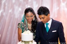 emerald indian wedding