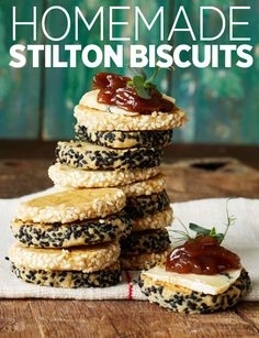Make lunch that bit more special with these homemade stilton biscuits - ready in 30 minutes