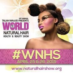 Jane Carter Solution will be at the Taliah Waajid World Natural Hair Show this weekend! Come visit us at booth 705/707.  #JaneCarterSolution #LoveYourHair #WNHS