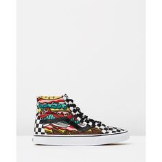 0842ee216f6c Vans SK8-Hi Reissue ( 97) ❤ liked on Polyvore featuring shoes
