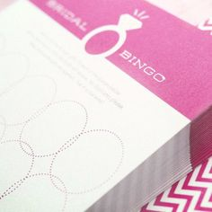 Bachelorette Party Games - Lingerie Shower Bingo