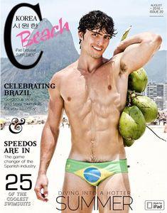 CA-RIO-CA swimwear by Gastohn Barrios for Cool Korea magazine.