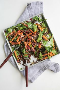 This recipe is dedicated to all those bags of bulk-bought carrots that are eagerly awaiting use. Serves two or take the rest for lunch tomorrow
