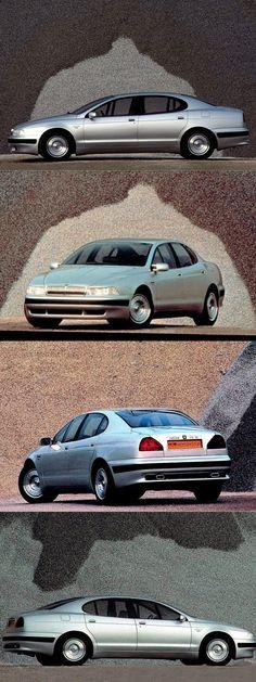 1990 Jaguar Kensington / Giorgetto Giugiaro @ ItalDesign / UK Italy / silver / concept / 17-299