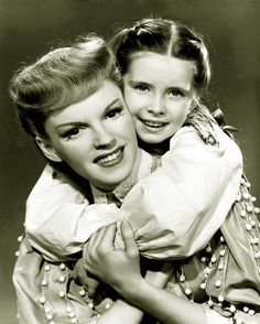 Judy Garland & Margaret O'Brien, Meet Me in St Louis (1944). If you have never seen this movie- watch it!