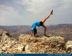 "#Yoga Poses Around the World: ""Full wheel - by Jessica N."""