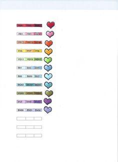 Michelle's MBellishments: favorite copic color combos