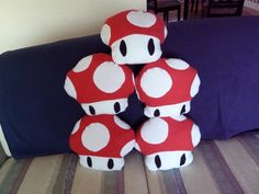 Sakacon: DIY Mushroom Plushies  I don't like this actual plushie, but I like the idea