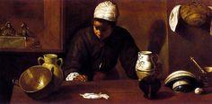 D. Velázquez, La cena de Emaús (entre 1617-1622)
