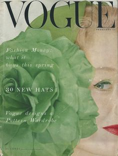 Ciao Bellissima -Vintage Cover Coquettes; Photo by Erwin Blumenfeld for Vogue February 1953