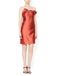 #Lanvin# Strapless Twist Dress $1499