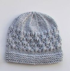Ravelry: Milk & Sugar Baby Hats pattern by marianna mel Beanie Knitting Patterns Free, Baby Hat Knitting Patterns Free, Baby Cardigan Knitting Pattern, Baby Hat Patterns, Baby Hats Knitting, Knitting Designs, Knitting Projects, Knitted Hats, Crochet Patterns