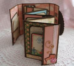 Hi all, I am back with my mini album tutorial and the finished mini!!  Today I am going to do my best to share with you how to make thi...