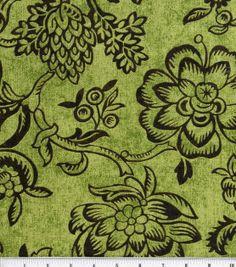 45'' Home Essentials Print Fabric-Bircham/Kiwi at Joann.com #24