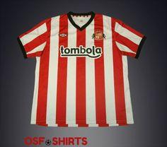 SUNDERLAND-Home-2011-2012-FOOTBALL-SHIRT-Jersey-Maglia-Camiseta-Soccer-Umbro-XL  http://www.ebay.com/itm/-/332054084406