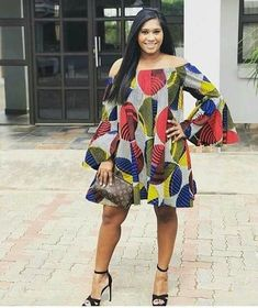 latest traditional dresses for black women - fashion African Fashion Designers, African Print Fashion, Africa Fashion, African Fashion Dresses, African Outfits, Ankara Short Gown Styles, Trendy Ankara Styles, Short Gowns, African Attire