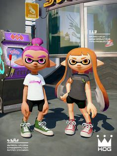 KOG brand Splatoon