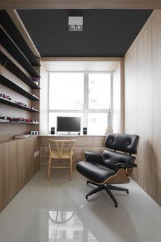 Eames Lounge Chair schwarz - POPfurniture.com