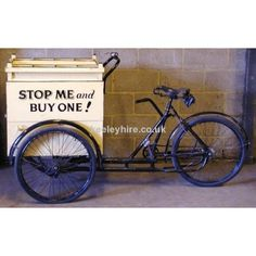 Juice bar bike? Identify your product and  use your cooler as a billboard!