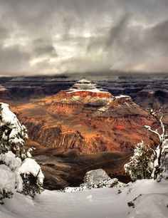 Snowed in the Canyon by Danilo Faria, via 500px; The Pyramid, Grand Canyon National Park, Arizona