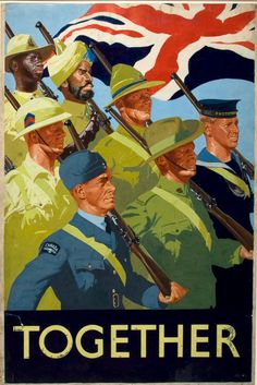 Reprint of a WWII British Empire Recruits Poster on Etsy, £15.28