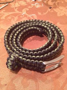 Paracord Belt, Cutome Made.