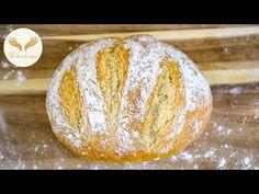 Najgorętszy obecnie chleb na świecie - według metody Artisan Bread. - YouTube Pain Artisanal, Artisan Bread, Muffins, Desserts, Pane Pizza, Italian Bread, Recipes, Gluten Free Recipes, Cooking Recipes