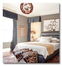 Small bedroom color scheme ideas warm beige and blue bedroom decorating shelves with books Small Bedroom Colours, Bedroom Color Schemes, Blue Bedroom, Bedroom Decor, Master Bedroom, Bedroom Neutral, Colour Schemes, Bedroom Ideas, Bedroom Color Combination