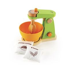 Eco friendly wood mixer -- so cute!