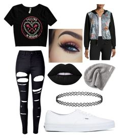 """Memelord_wentz"" by aby-est ❤ liked on Polyvore featuring WithChic, Vans, Terez and Converse"