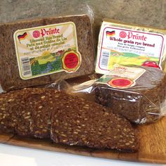 Germans love hearty, dark, nutritious bread that's high in protein.German breads are made from top-quality whole grain rye flour and are baked slowly in steam-heated ovens; a long process that brings out the bread's distinctive darker color, nutty taste, and moist, firm texture.