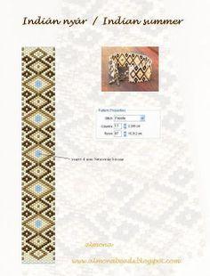 Almona: Indian Summer pattern