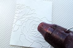 Splitcoaststampers - Distress Watercolor Dry Embossing