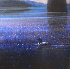 Ewoud-de-Groot-Wildlife-Twilight loon 03 2013