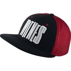 Nike Dri Fit Lebron Performance True Adjustable Basketball Cap Hat Red Black New