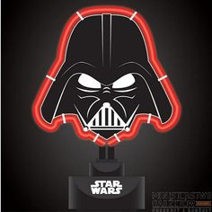 Neon Star Wars Darth Vader