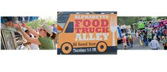 Alpharetta Food Truck Alley-Every Thursday 5 - 9 p.m.(Enter at corner of Roswell Street down from 37 Old Roswell Street)Alpharetta, GA   6-8 rotating food trucks and music each week.  Directions:  in front of La Casa Italian Grill at 37 Old Roswell Street.   Parking: Downtown Parking Lot on Roswell Street (at 37 Old Roswell Street); Milton Center (on Milton Avenue), or PAL Parking Lot (on Haynes Bridge Road).