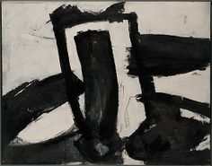 Kline, Franz - Sans titre (1956) - The Metropolitan Museum of Art, New York