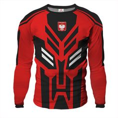 ARMOR Goalkeeper Jersey MAXIMUS With Custom Name And Number red