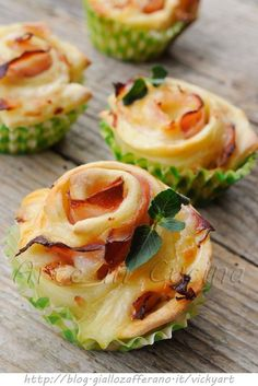 Rose al prosciutto ricetta antipasto veloce | Delicious appetizer for a birthday party, wedding, and more.