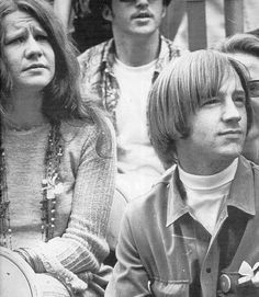 Peter Tork and Janis Joplin @ Monterey Pop Festival, 1967