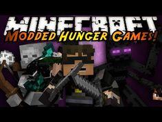 Minecraft: MODDED HUNGER GAMES! MUTANT CREATURES!