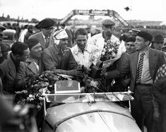 Special 24 heures du Mans 1933 . Alfa Romeo 8C 2300MM #11. Tazio Nuvolari / Raymond Sommer. Winner first place.