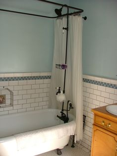 Bathrooms Meet Pop Culture: Downton Abbey and Edwardian Style only on Bathroom Bliss by Rotator Rod!