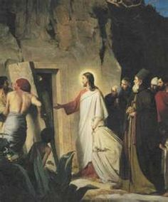 """Lazarus, Come Forth! BIBLE SCRIPTURE: John 11:43, """"And when he thus had spoken, he cried with a loud voice, Lazarus, come forth."""""""