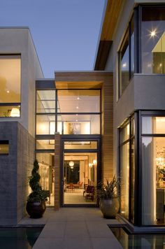 Walkway:Kern Residence by Semple Brown Design