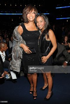 *EXCLUSIVE* Whitney Houston and Bobbi Kristina Brown at the 2009 American Music Awards at Nokia Theatre L.A. Live on November 22, 2009 in Los Angeles, California.  (Photo by Kevin Mazur/AMA2009/WireImage)